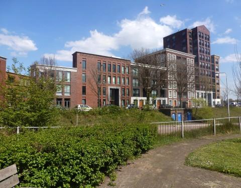 <h1>gebouw de Vreede blok 13, gebouw de Vrijheit blok 14</h1><h2>Oud-IJmuiden</h2>